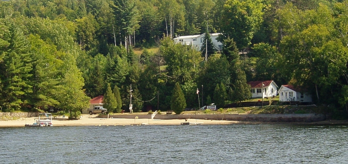 Seaman's Cabins located on Long Lake, NY